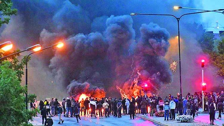 Sweden made sour by riots
